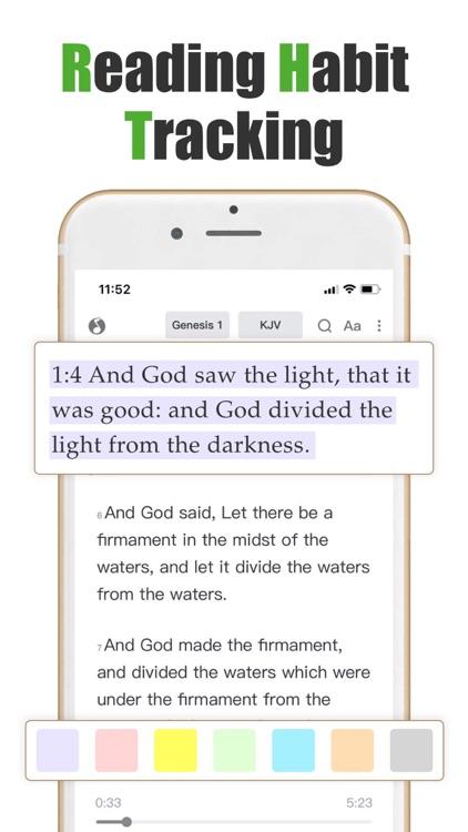 Holy Bible KJV-Prayer & Audio screenshot-7