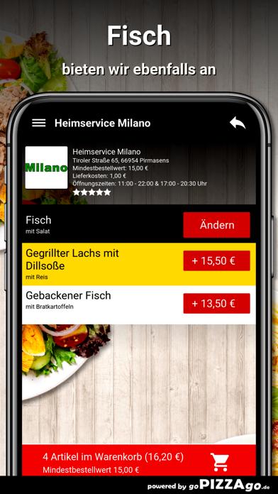 Heimservice Milano Pirmasens screenshot 6
