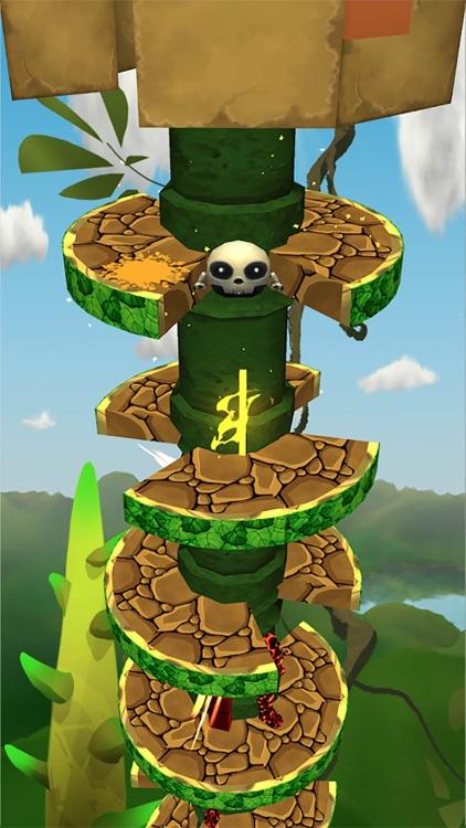 Helix Temple Jump screenshot-3