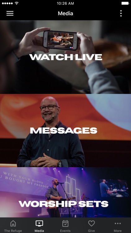 The Refuge Mobile App