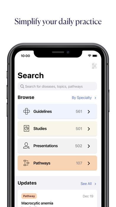 Pathway — Evidence-Based Care Screenshot