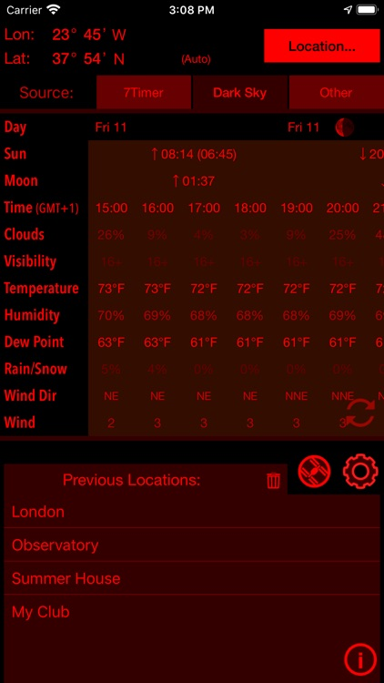 Xasteria Plus - Astro Weather