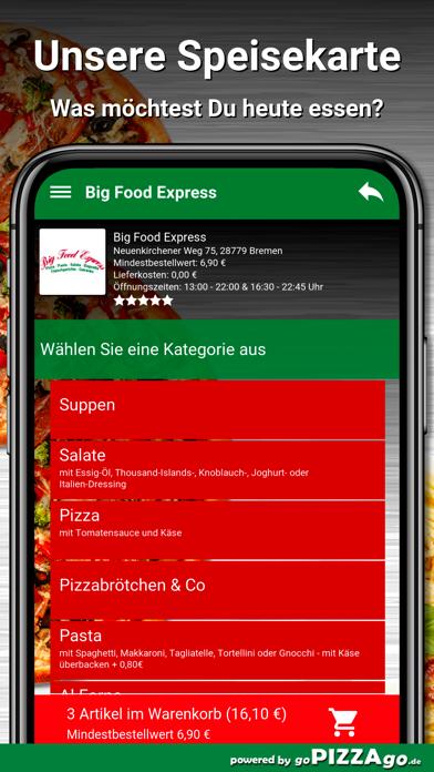 Big Food Express Bremen screenshot 4