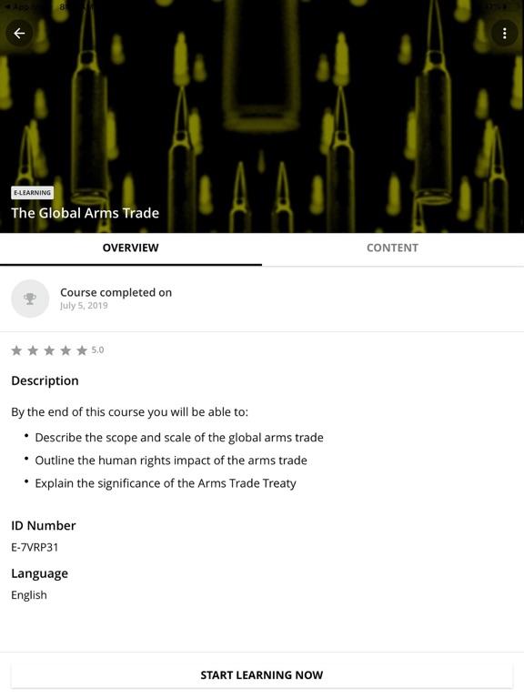Human Rights Academy screenshot