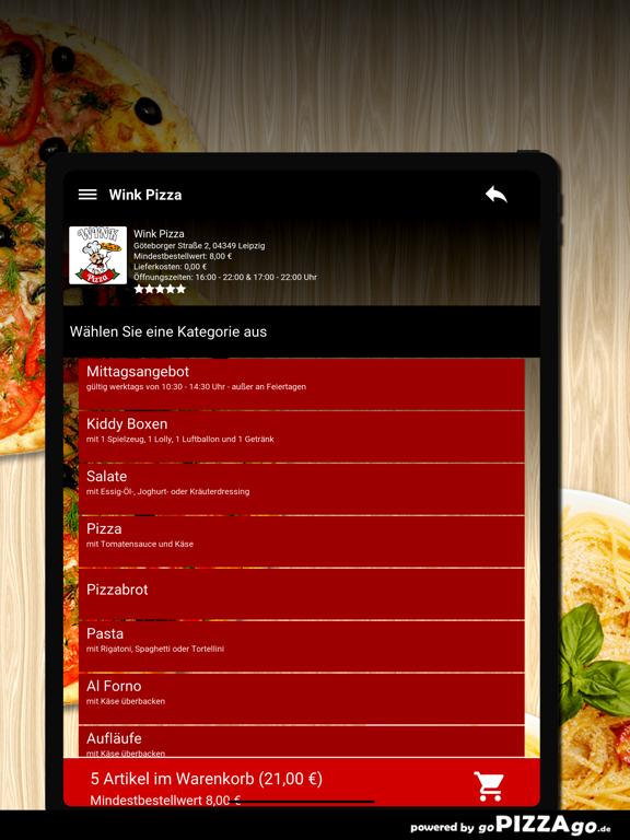 Wink Pizza Leipzig screenshot 8