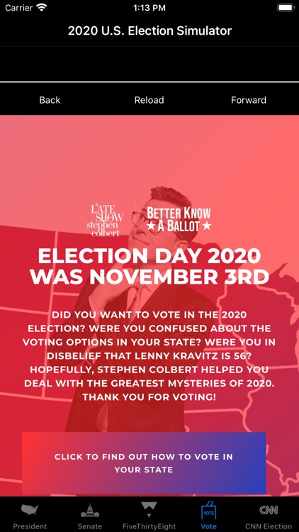 2020 US Election Simulator screenshot-5