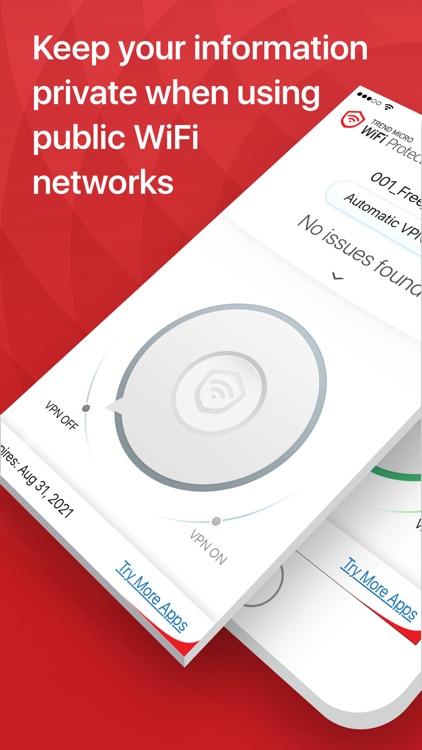 Trend Micro WiFi Protection screenshot-0