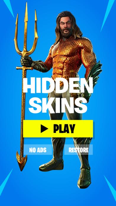Hidden Skins For Fortnite screenshot 1