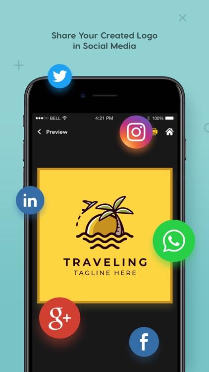 Logo Maker - logo design screenshot-6