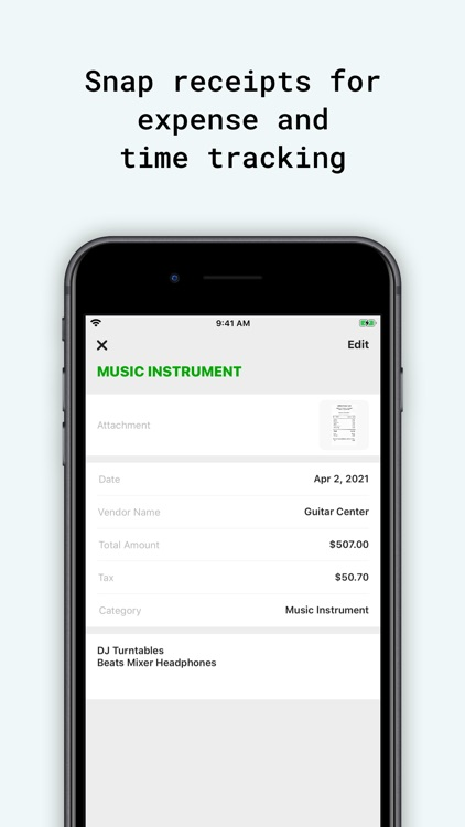 Tiny Invoice - Estimate Maker screenshot-8