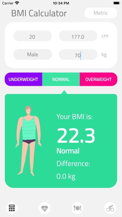 BMI Calculator Health screenshot-4