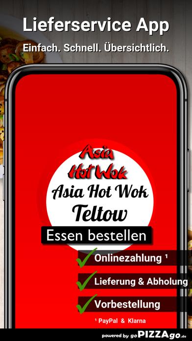 Asia Hot Wok Teltow screenshot 1