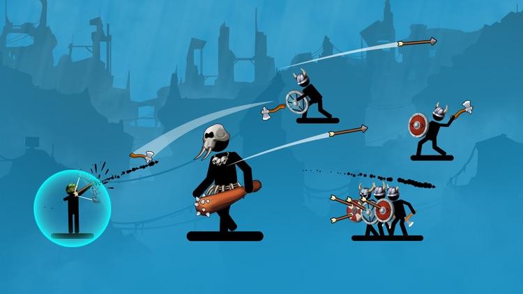 The Archers 2: stick man game screenshot-6