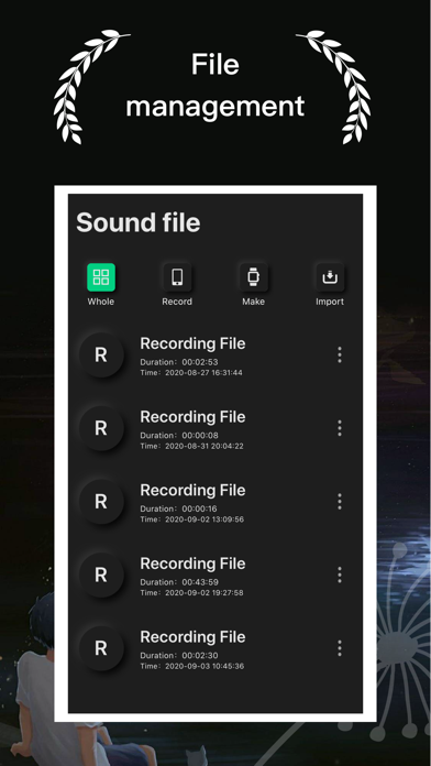 Recording - Voice memo screenshot 2