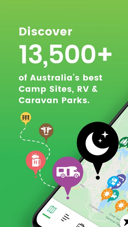 Camps Australia Wide GPS Guide screenshot-0