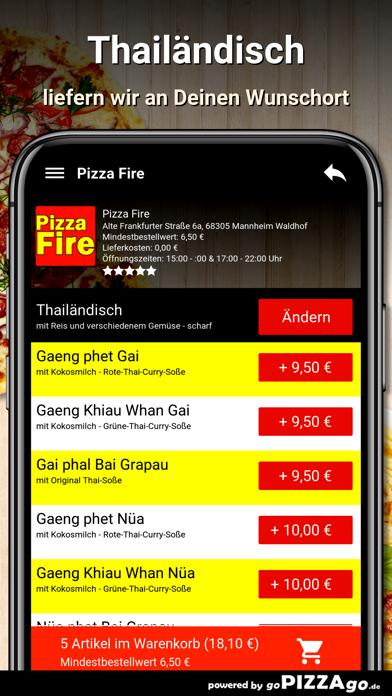 Pizza Fire Mannheim Waldhof screenshot 6