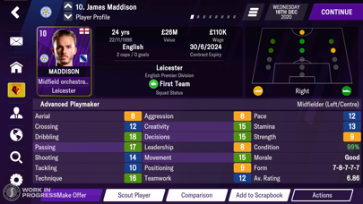 Football Manager 2021 Mobile screenshot 3