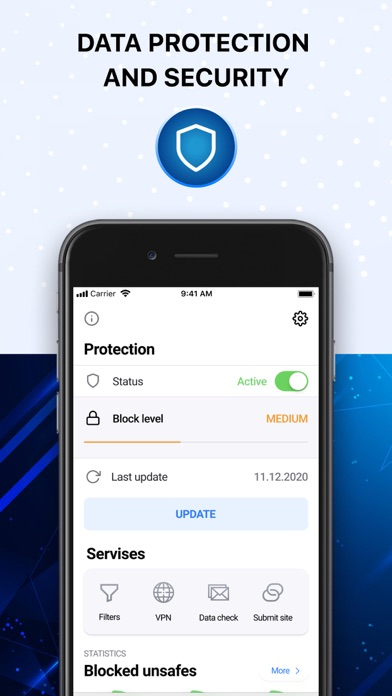 Spy Block: online protection Screenshot