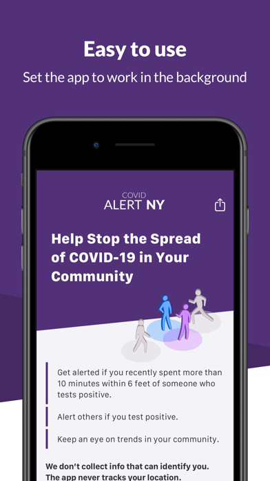 COVID Alert NYScreenshot of 3