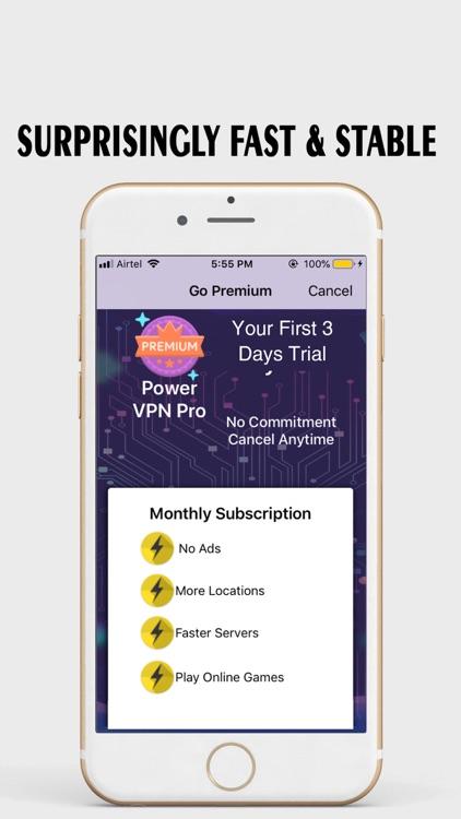 VPN Proxy: Power VPN Hotspot