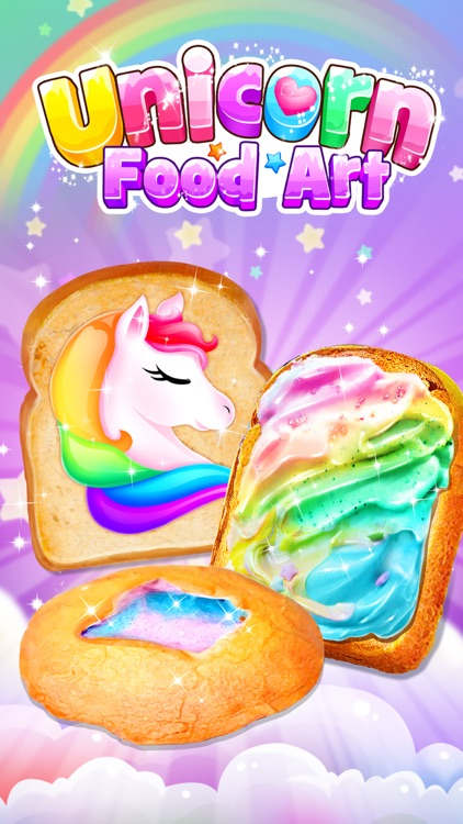 Unicorn Food Art Design