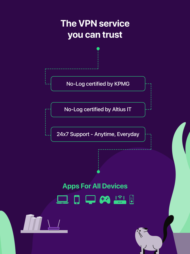‎PureVPN: Fast, Secure & Easy Screenshot