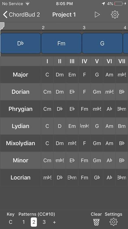 ChordBud 2 AUv3 MIDI Sequencer screenshot-3