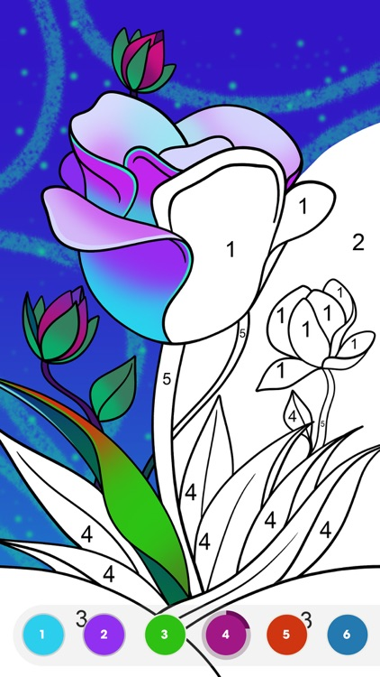 Paint by Number:Coloring Game