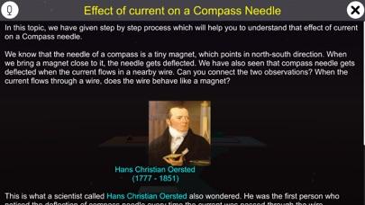 Effect of current on a compass screenshot 1