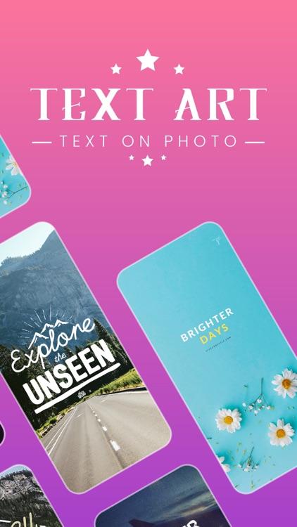 Write On Photos - Add Text Art