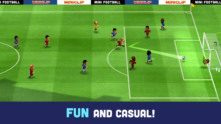 Mini Football - Mobile soccer screenshot-0
