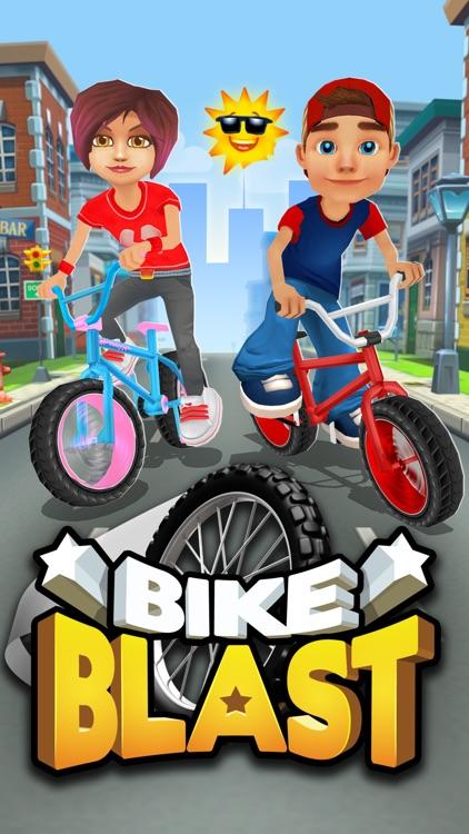 Bike Blast -BMX Race Game screenshot-6