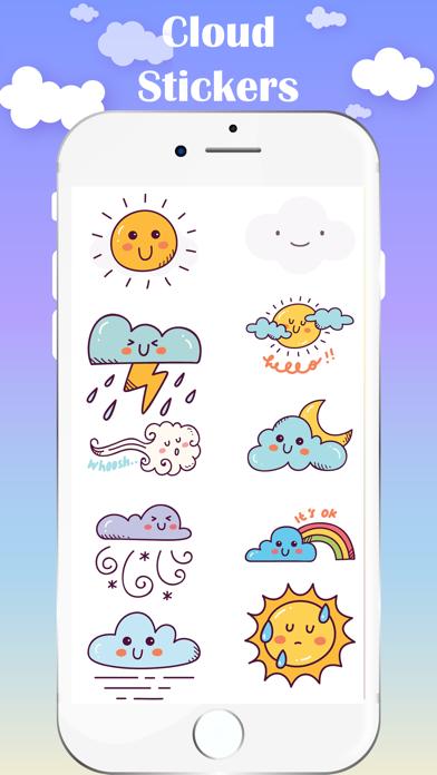 Cloud Stickers screenshot 2