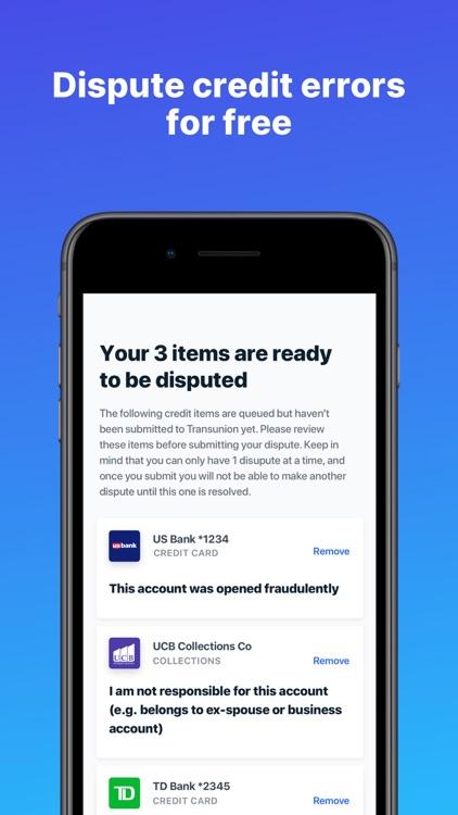 Upturn: Credit Report Disputes screenshot-0