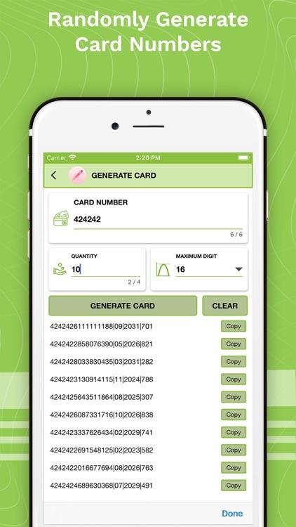 Verify Bank Cards & Check BIN screenshot-3