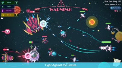 Galaxy Tycoon: Star Trade &War Screenshot on iOS
