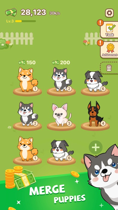 Puppy Town - Merge & Win free Resources hack