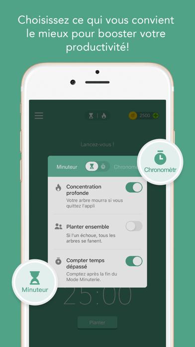 Forest - Restez Concentré iphone captures décran