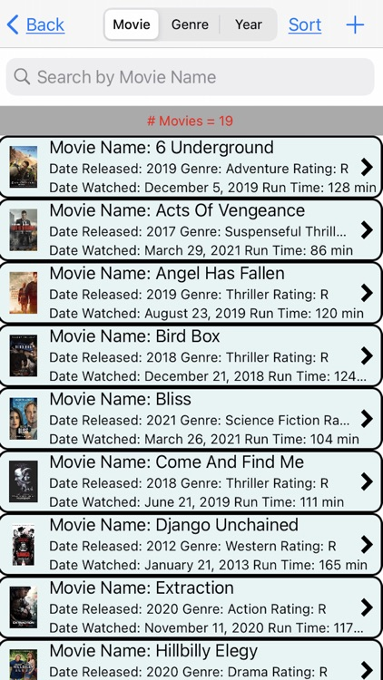 Movies I Have Watched screenshot-2