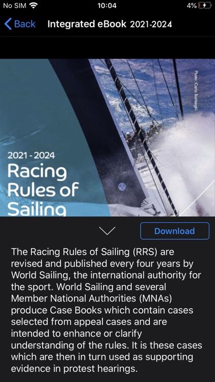 World Sailing 2021-2024
