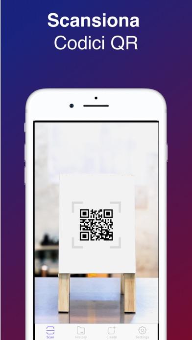 Screenshot of QR Scanner - Lettore di Codice1