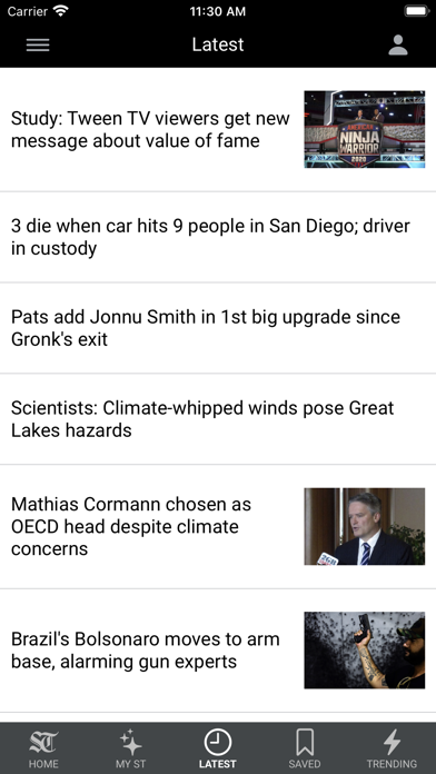 Seattle Times Mobile Screenshot