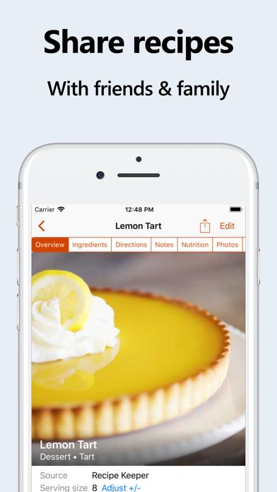 Recipe Keeper Screenshot