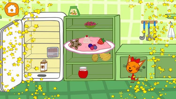 Kid-E-Cats Cooking at Kitchen screenshot-5