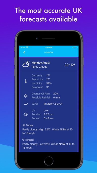 UK Weather Maps and Forecast screenshot three