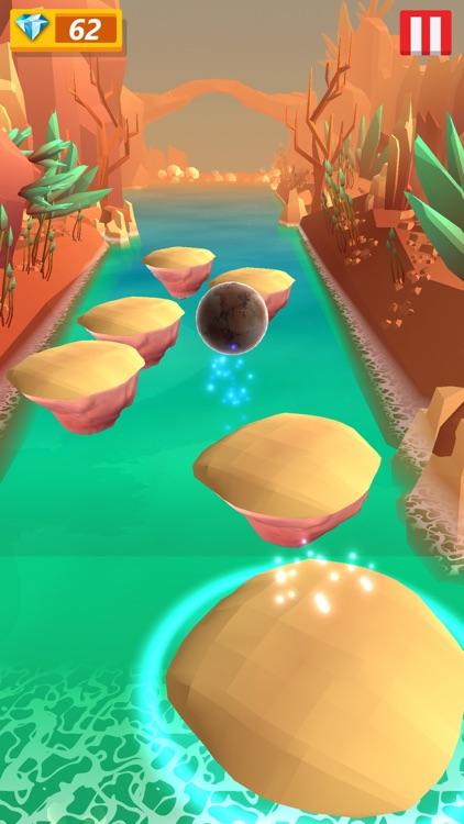 Hop Ball 3d jump on edm beat screenshot-3