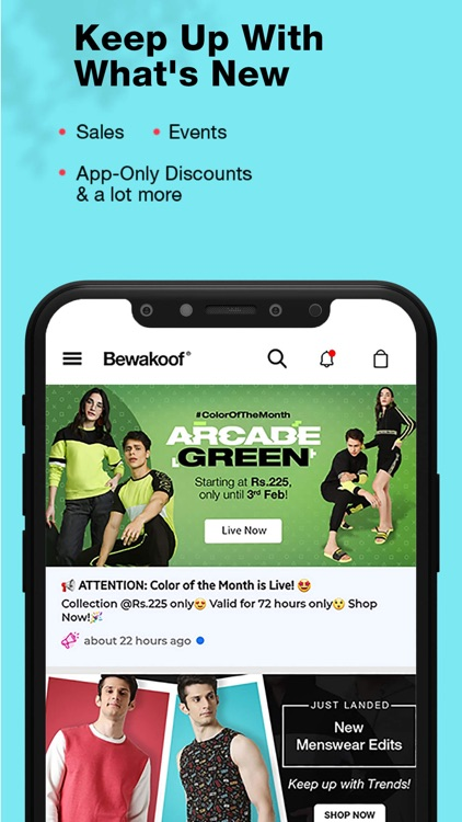 Bewakoof- Fashion Shopping App screenshot-6
