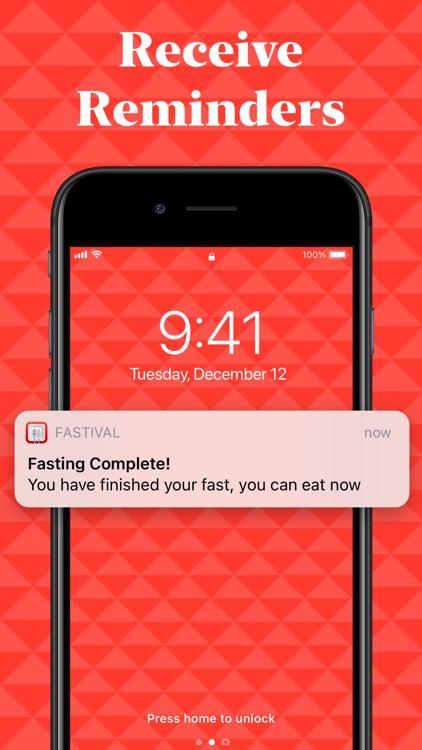 Fastival: Intermittent Fasting screenshot-4