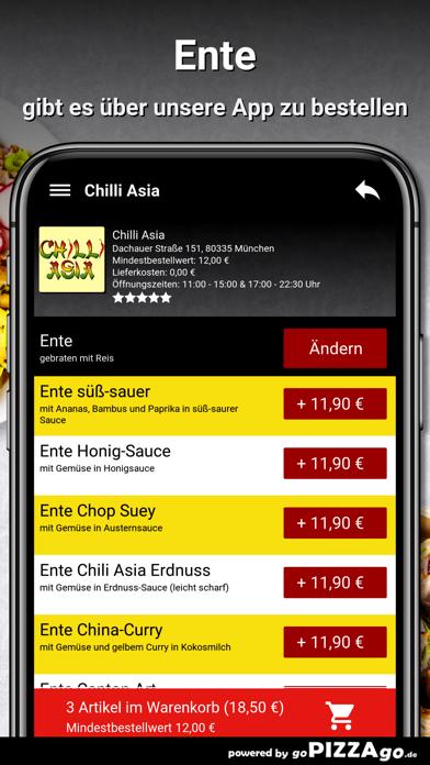Chilli Asia München screenshot 6