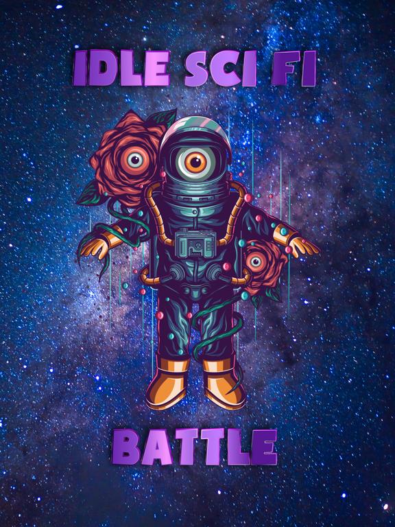Idle Sci-Fi Battle screenshot 5